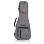 GATOR TRANSIT SOPRANO UKULELE CASE, LIGHT GREY
