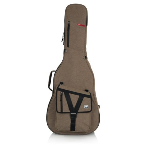 GATOR TRANSIT ACOUSTIC GIG BAG, TAN