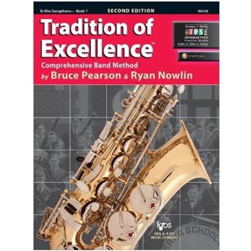 TRADITION OF EXCELLENCE ALTO SAX BOOK 1