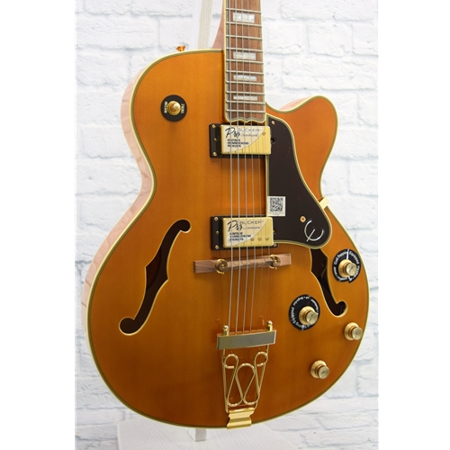 EPIPHONE JOE PASS EMPEROR II PRO - VINTAGE NATURAL