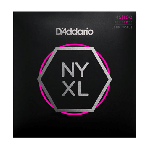 D'ADDARIO NYXL45100 ELECTRIC BASS STRINGS, REGULAR LIGHT, 45-100 - 4 STRING