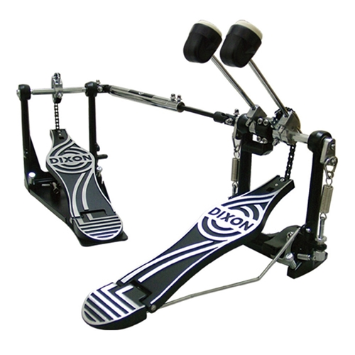 DIXON DOUBLE BASS PEDAL 80 SERIES, CHAIN DRIVE